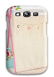 VFfQgoB550IRMOh Anti-scratch Case Cover Chrislmes Protective Girl8217s Room Pink Play Tent Case For Galaxy S3