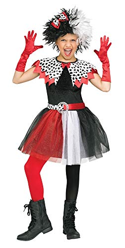 (Fun World 112352M Dalmatian Diva Child Costume, Medium,)