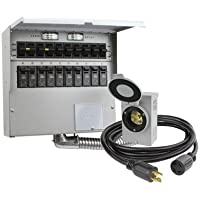 Reliance Controls 310CRK 10 Circuit Transfer Switch Kit by Reliance Products