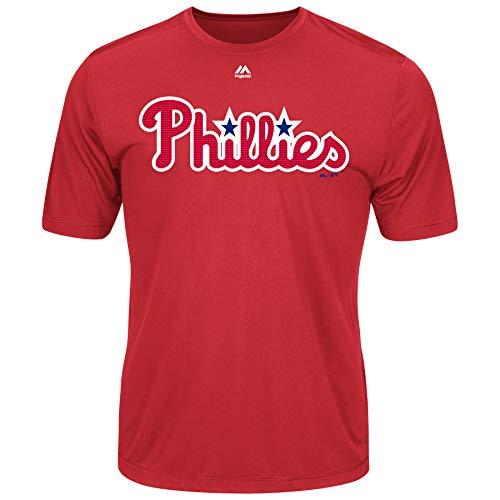 Majestic Youth Cool Base MLB Evolution Shirt Philadelphia Phillies Small