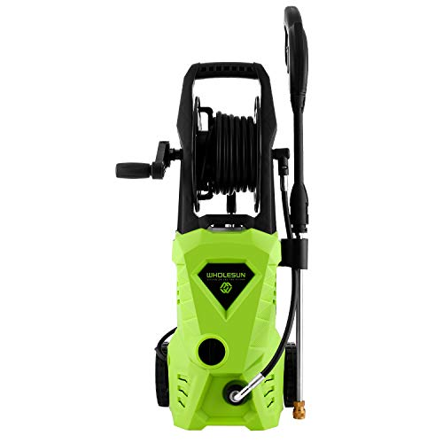 3000PSI Pressure Washer Electric 1.8GPM 1600W High Power Washer Machine for Cleaning Car/Floor/Wall/Furniture/Outdoor with 5 Nozzles