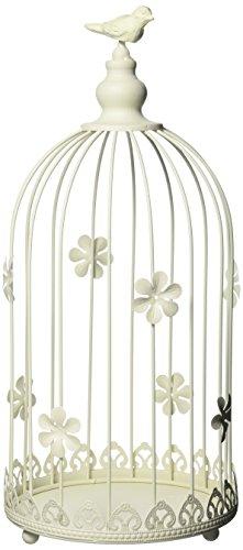 Sunshine Megastore Ivory Birdcage Candle Display