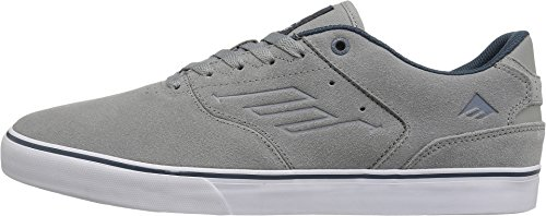 Emerica The Reynolds Low Vulc, Color: Grey/Blue, Size: 48 Eu / 14 Us / 13.5 Uk