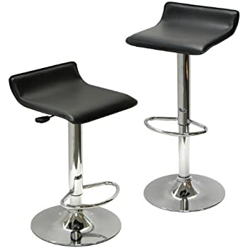 Winsome Wood Air Lift Adjustable Stools Set of 2  sc 1 st  Amazon.com & Amazon.com: Winsome Wood Air Lift Adjustable Stools Set of 2 ... islam-shia.org