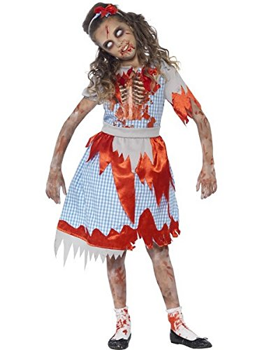 Zombie Country Girl Costume - Medium Age 7-9 (Country Halloween Costumes)