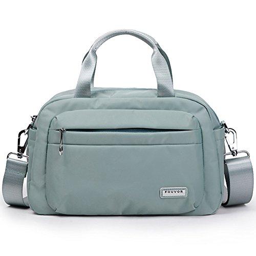 Bag Handbag Green Light 280019 Satchel Fouvor Nylon Waterproof Crossbody C11qg7