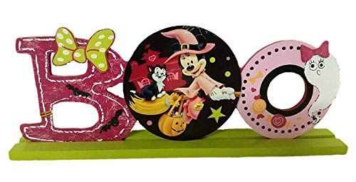 12 Inch Minnie Mouse Dressed as Witch & Figaro