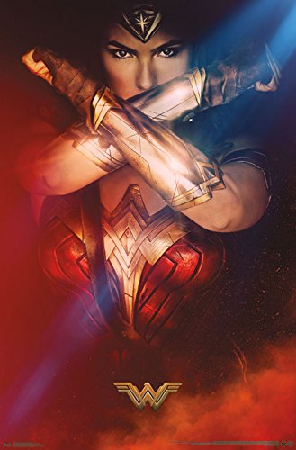 "Trends International Wonder Woman Bracelets Wall Poster, 22.375"" x 34"""