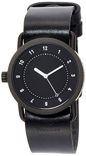 [ Incorporatedウォッチ] tid Watches Designer with Watch特別なノベルティトートバッグバッグComes with an延長保証tid01 – 36bk / BKトートバッグ[ Regularインポート品]   B06W54QB18