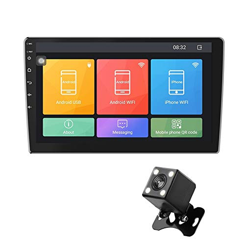 GPS Navigation System with 10.1 Inch HD Touch Screen 16GB 512MB Real Time Voice Navigator Device Free Updates UK and EU Maps