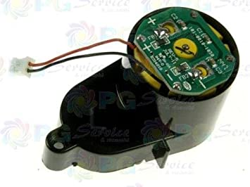 Ariete Motor cepillo izquierdo + plaqueta con chip Robot Briciola Digital 2711 2712 2717: Amazon.es: Hogar