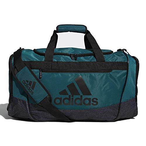 adidas Defender III medium duffel Bag, Green/Black/White, One ()