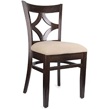 Beechwood Mountain BSD 23S W Solid Beech Wood Side Chairs In Walnut For  Kitchen