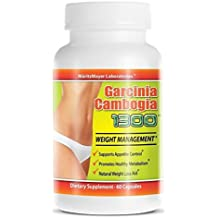 Garcinia Cambogia Extract 1300 Weight Management Contains 60% HCA 100 Bottles