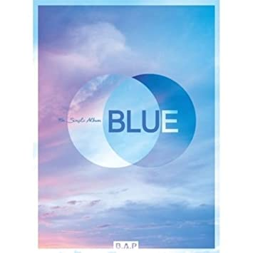 CD+BOOKLET+PHOTO CARD BAP B.A.P 7TH SINGLE ALBUM BLUE