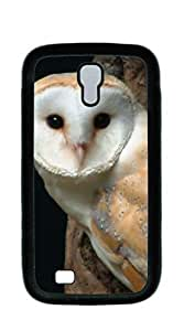 Back Cover Case Personalized Customized Diy Gifts In A case for samsung galaxy s4 4d - Cute and stupid owl With High Grade Design L-NE CASE