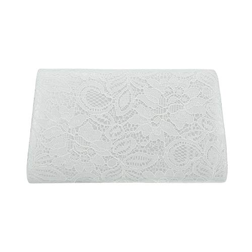 Charming Tailor Prom White Lace Wedding for Bag Clutch Evening Classic Envelope rrnpwdxqSP