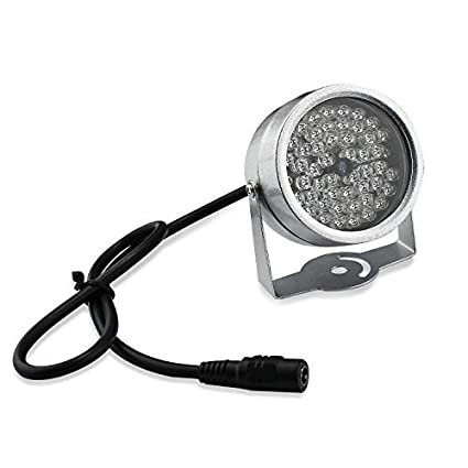 48-LED nocturna por infrarrojos CCTV IR Visión iluminador de luz para cámara de visión