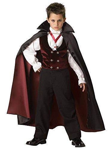 Gothic Vampire Child Costume - Medium -