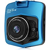 Car Dash Cam, coolsun 2.4 LCD FHD 1080p 160 Degree Wide Angle Dashboard Car Camera Recorder with Night Vision,WDR, Loop Recording