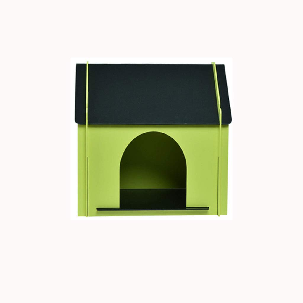 B Lijin light Dog house outdoor indoor waterproof solid wood kennel large medium and small dogs four seasons pet nest dog house