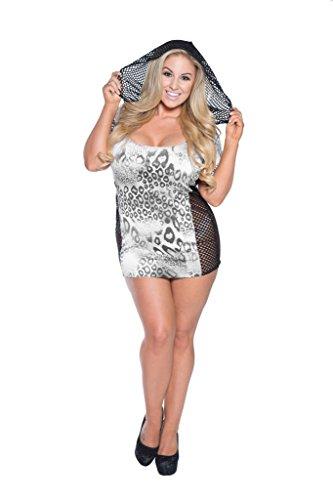 cheetah print dress plus size - 8