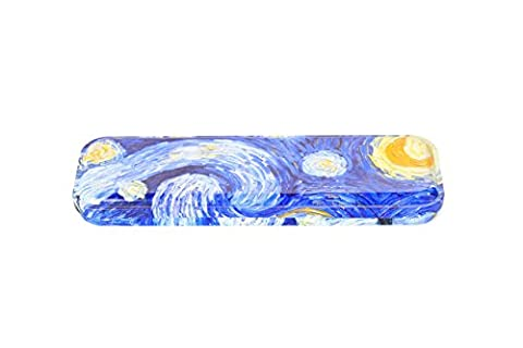 DAHO Mini Tin Pencil Case, Starry Night - Mini Tin Case