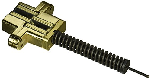 SOSS 218IC Zinc Invisible Spring Closer for 1.75'' Doors, Bright Brass Exterior Finish by SOSS