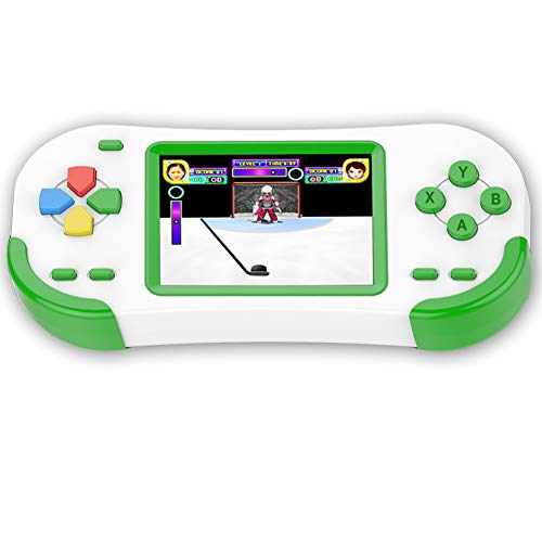 Douddy Handheld Games for Kids with Build in 220 16 Bit Games Player Toy 3.0 Inches Display Rechargeable Birthday Christmas Party Gift -