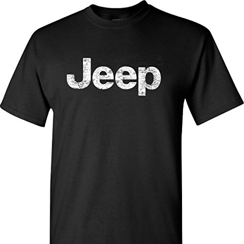 jeep-distressed-logo-on-a-black-t-shirt