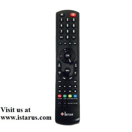 Istar Korea Remote Control For The Old Models Of Istar Receivers