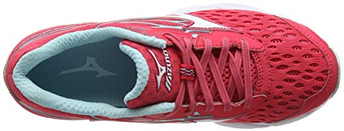 Zapatillas Mujer 02 Mizuno Wave Multicolor Running para Pink 2 White W Catalyst Paradise de 6qgwfTqIx