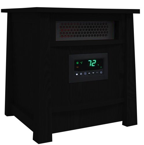 LifePro LifeSmart LS-8WIQH XLarge Room Portable 8 Element Infrared Quartz Heater (8 Element Infrared Quartz Heater)
