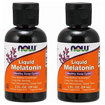 Amazon.com: Liquid Melatonin 3mg (Pack of 4) Now Foods 8 oz. (4 x 2 ...
