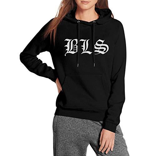 Women's Black-Label-Society-Skull- Fleece Wool Warm Long Sleeve Hoodie Sweatshirt