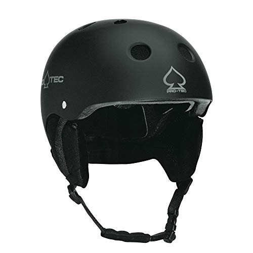 ProTec Junior Classic Certified Snow Helmet - Gloss Black - SM