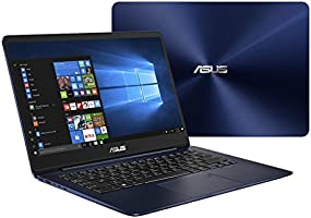 """Asus ZenBook UX430UN-GV030T Ultrabook, Display da 14"""", Processore i7-8550U, 1.8 GHz, SSD da 512 GB, 16 GB di RAM, nVidia GeForce MX 150, Blu [Layout Italiano]"""