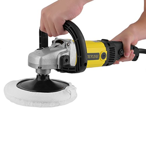 CATUO Professional Electric 6 Variable Speed Car Polisher Buffer Waxer Sander Polishing Machine for China Ken with Carry Box & Accessories (Variable Speed but NOT Random) by CATUO (Image #2)