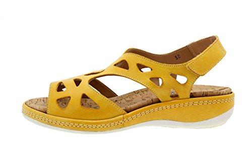 Calzado mujer confort de piel Piesanto 1905 Sandalia Plantilla Extraíble cómodo ancho Mango