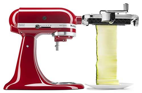 (KitchenAid KSMSCA Vegetable Sheet Cutter, 1, Metallic)