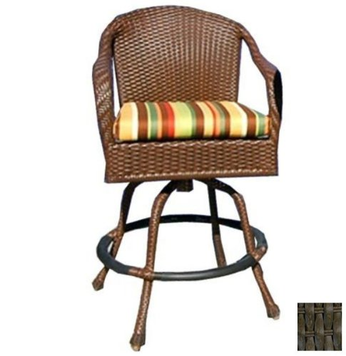 Dining Room Teak Bar Stool - Tortuga Outdoor Garden Patio Lexington Bar Chair - Tortoise