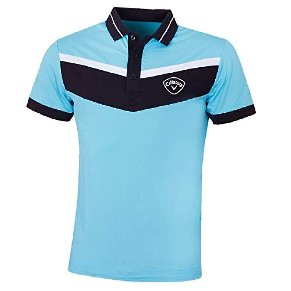 [해외] CALLAWAY 골프 2019 맨즈 3색 리브 부착 스트레치 골프 폴로 셔츠 X-LARGE