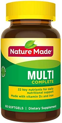 Nature Made Complete Softgels Nutrients product image