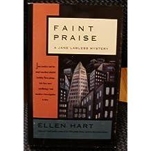 Faint Praise: A Jane Lawless Mystery
