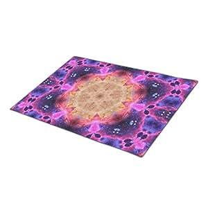 Eryoubs Monogrammed Door Mat Stellar Gateway Mandala Fall Doormats