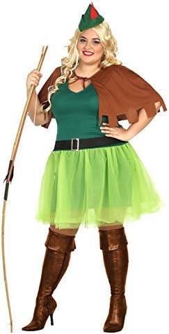 Atosa-31489 Disfraz Mujer arquera, Color Verde, XXL (31489 ...