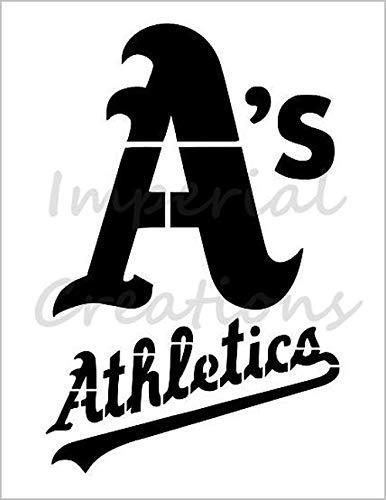 OAKLAND ATHLETICS A's Baseball Team 8.5