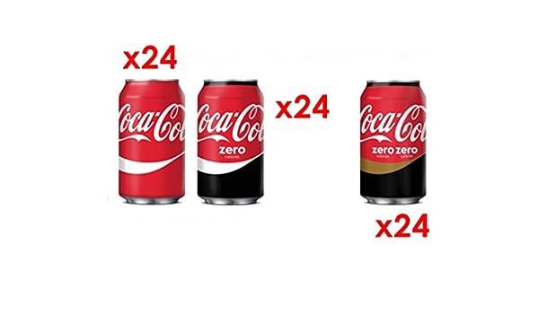 MEGAPACK CocaCola 72 Latas 24x Cocacola + 24x CocaCola Zero + 24x ...