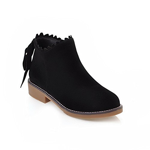 BalaMasa Abl09882, Sandales Compensées femme - Noir - noir,