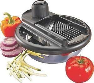 Kitchen Tools & Gadgets NEW ONEIDA 57077 7 PIECE MANDOLIN FOOD SLICER STAINLESS BOWL 4 BLADE 5884598